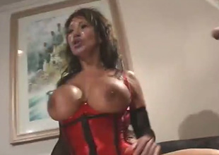 Buxom MILF Ava Devine likes to fuck until that babe is all moist and that babe likes DP