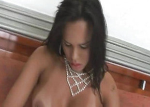 Hardcore Naughty T-girl Screwed with Big Cock Ass