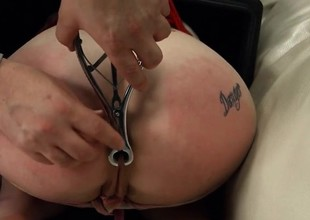 BDSM porn action with ropes and extreme loving
