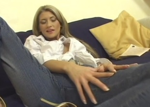 Horny ladies Angel and Misty in wicked pussy licking in lesbian adventure