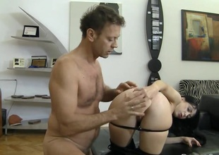 Rocco Siffredi uses his erect love wand to bring Isabella Clark to the height of pleasure after mouth job