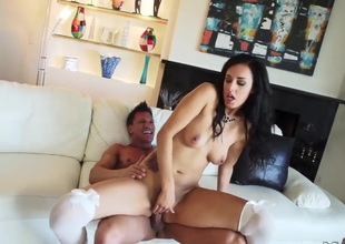 Hawt bodied breathtaker and Marco Banderas have oral sex for cam for u to watch and enjoy