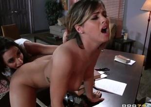 Senora enjoys another lesbo sex session with her girlfriend Ariella Ferrera