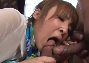 Hikaru Shiina has a nice time blowing dudes worm