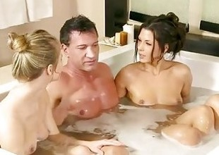 FantasyMassage Jillian Janson Erotic Threesome