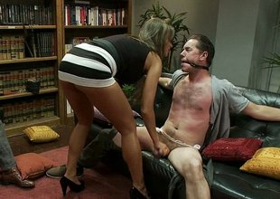 Convivial wife cuckolds her spouse while neighbour watches