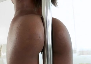 Vehement and non-stop sex helps ebony to cum a lot
