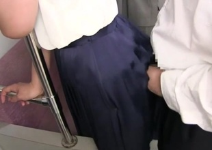 Cum on skirt